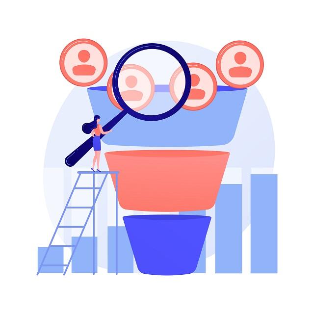 Cycle d'achat : le marketing funnel ou funnel ventes